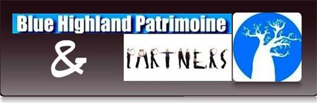 LOGO Blue Highland Patrimoine and Patners